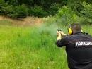 Стрельба по неподвижным грудным мишеням в движении