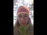 Анастасия Кузьмина поздравляет с Рождеством (декабрь 2017)