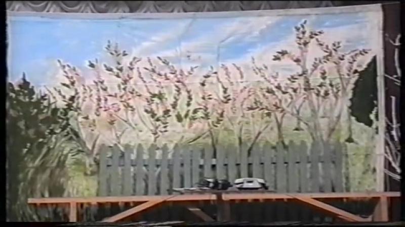 Спектакль Печка на колесе вторая часть В роли Василия Славнов Андрей