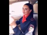 Младший лейтенант полиции спела блатняк