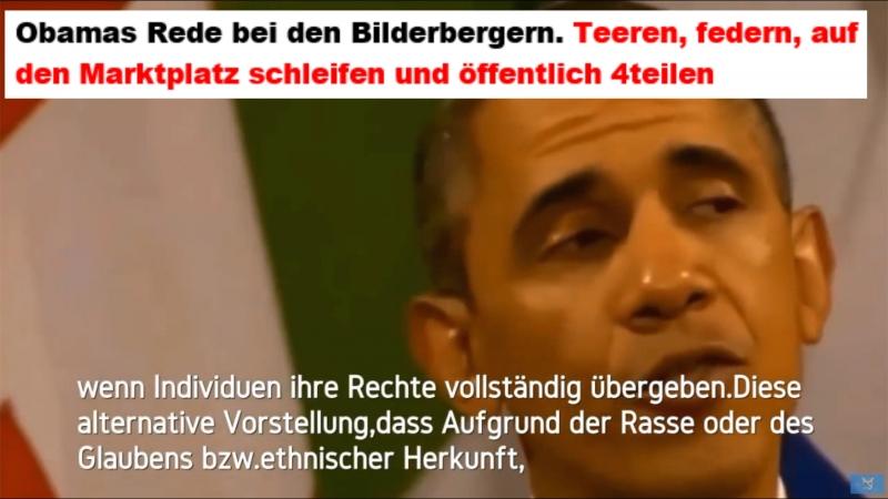 Obamas Rede bei den Bilderbergern