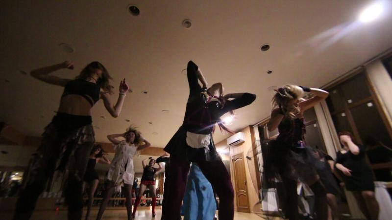 Halloween 2017 - Спонтанная работа группы Strip Dance by Dance Life !