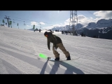 Snowboard Addiction| Buttering (Goofy) - 180 Tail Butter 360 Goofy