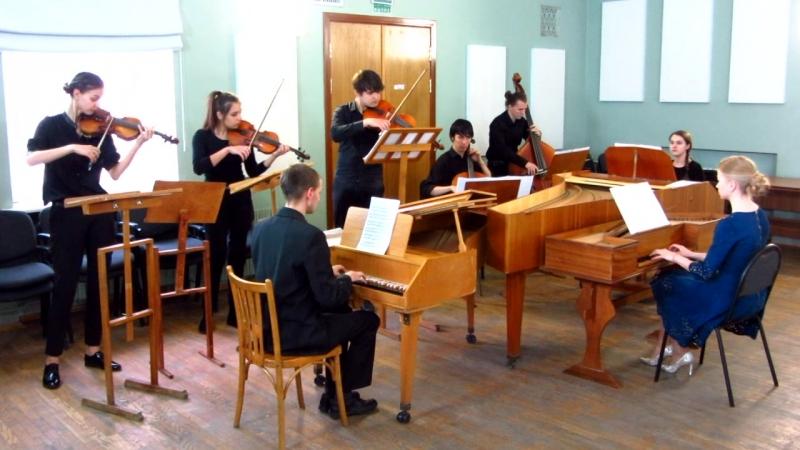 MVI_1662 - И.С. Бах. Концерт для 3-х клавесинов № 2 До мажор, BWV 1064 ( см. продолжение на видео MVI_1663).