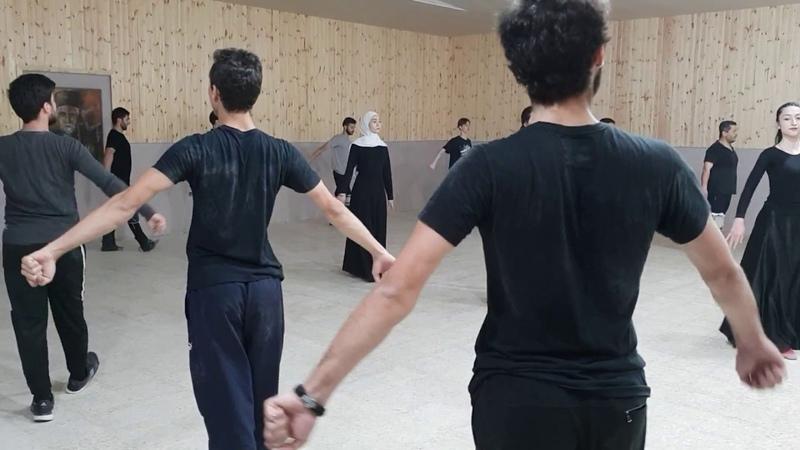 • Иордания, черкесский ансамбль «Аль-Ахли». Jordan, Circassian ensemble Al-Ahli