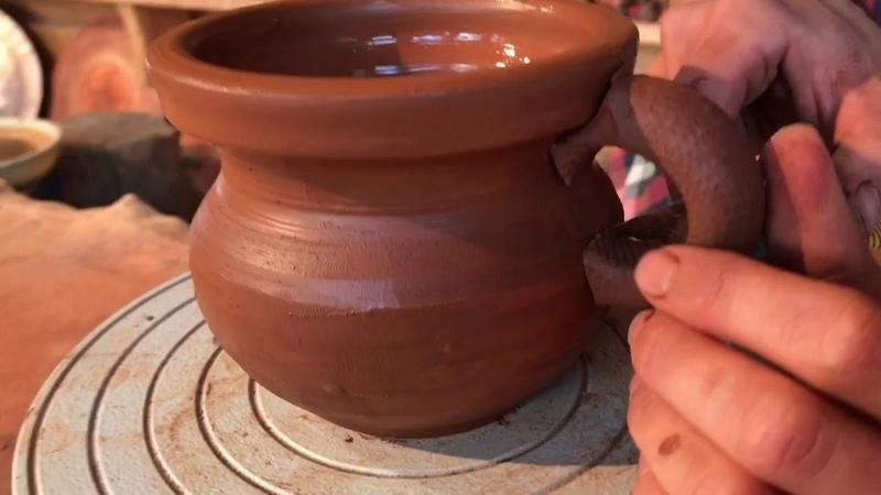 Кружка Кандюшка Обучение гончарству Волшебство керамики