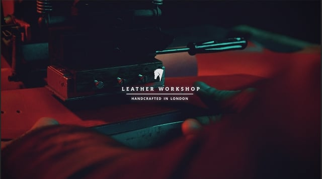 Leather Workshop Handcrafted in London