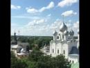 Зарисовки из Кремля в городе Ростов Великий виды со смотровой площадки Красота уже СПАСАЕТ МИР Живем чудесным Присоединяйся