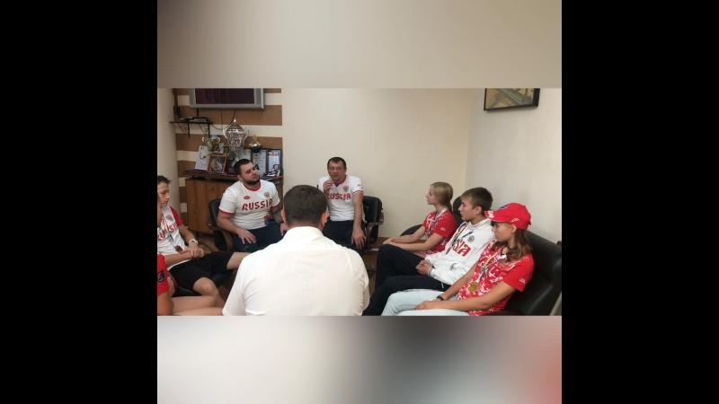 Участники Первенства мира о предстоящем Кубке Кавказа