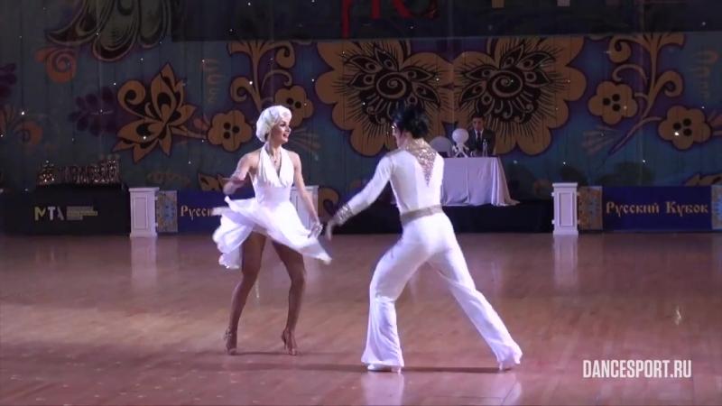 Елизаров Филипп - Супрунова Марина, Латиноамериканское шоу