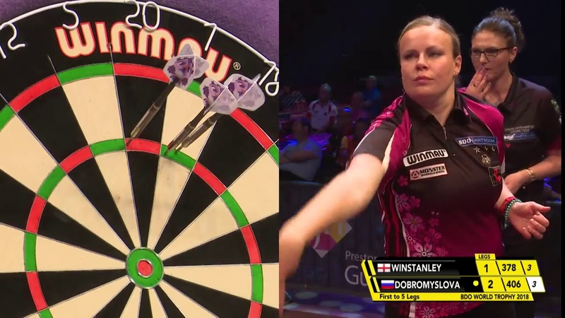 Dobromyslova vs Winstanley Darts Ladies World Trophy 2018 Semi Final