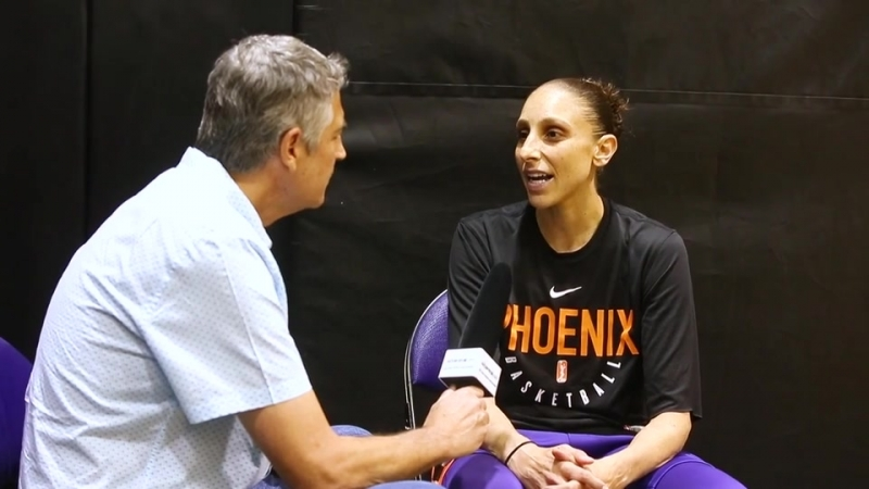 One-on-one with Mercury guard Diana Taurasi