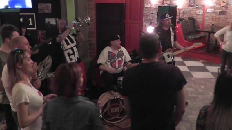 Кавер группа БМ - крикнем слово матай в Hill's pub