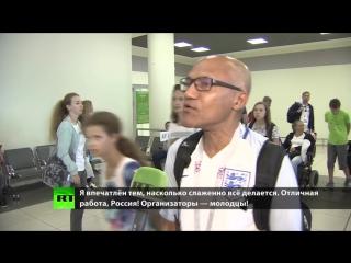 Английские болельщики: пресса пугала нас российскими хулиганами, но здесь всё замечательно