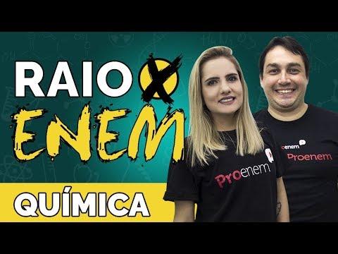 Raio X ENEM Os temas mais cobrados de Química - Prof. Luiz Claudio e Caroline Azevedo