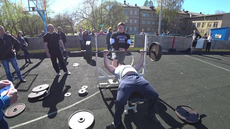Корпачов Юрий 100 кг жим