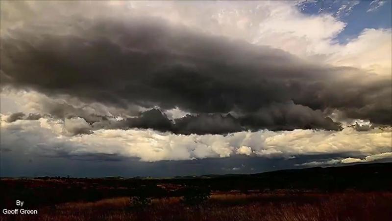 Идеальная гроза шторм дождь молния радуга это надо видеть