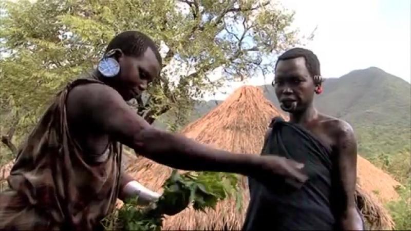 Магия приключений Эфиопия, Африка. Сурма - кровь и красота