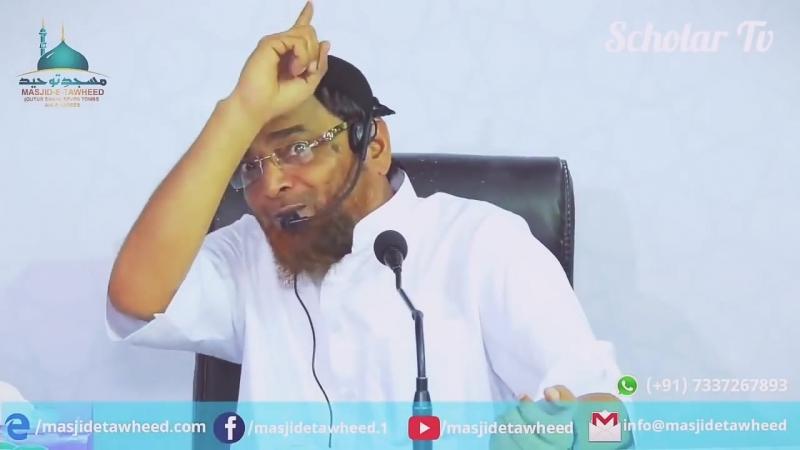 Hidayat milne ke baad Aadmi Gumrah ho sakta hai - Jalaluddin Qasmi