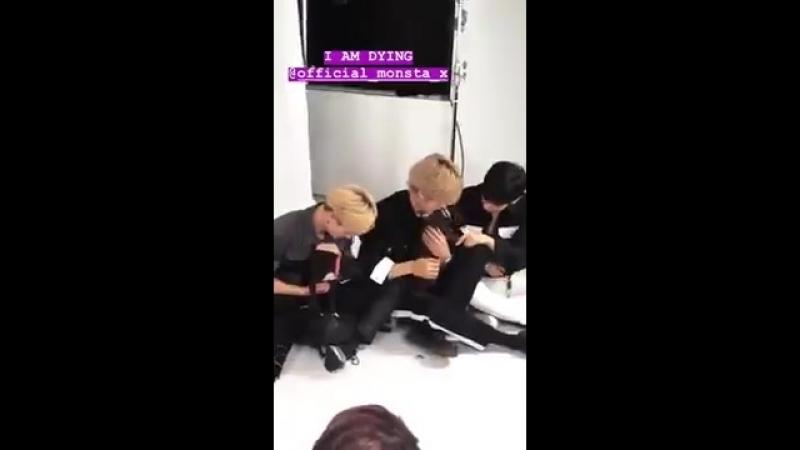 [VK][24.07.2018] MONSTAX's Buzzfeed interview with puppies @ _vickichen Instagram Update (1)