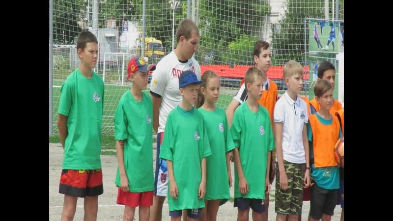 ФДК Соревнования по дворовому футболу среди команд Ленинского района