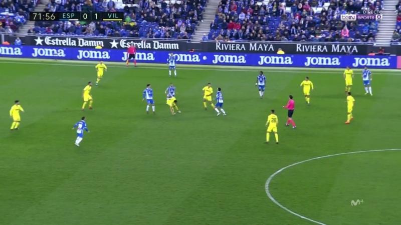 Чемпионат Испании 2017-18 24-й тур Эспаньол – Вильярреал 2 тайм [720, HD]