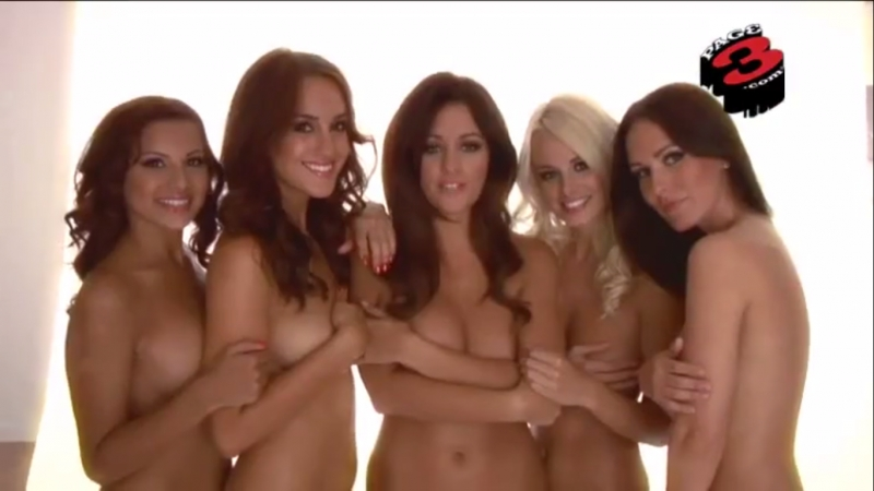 Lacey Banghard Holly Peers Rosie Jones Rhian Sugden Amii Groove - Sexy Models