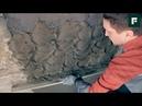 Штукатурные работы методом мокрый по мокрому FORUMHOUSE