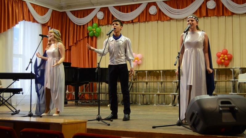 Трио Два плюс один с песней Штиль на конкурсе Вдохновение г Уфа 2017 год