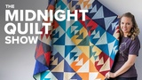No-Leftover-Fabric Quilt Pattern S6E5 Midnight Quilt Show with Angela Walters