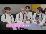 VK180813 MONSTA X Interview @ Young Hollywood