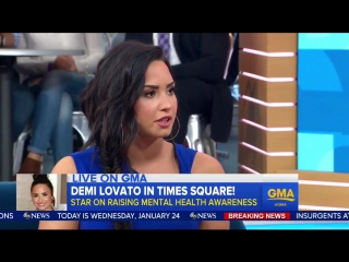 @ddlovato is bringing @castcenters on tour to provide free therapy and wellness sessions before concerts for fans!