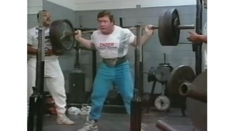Squat - Ed Coan - 1993