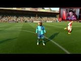 [creative7play] МАТЧ ЗА ВЫХОД В ФИНАЛ ✭ КАРЬЕРА ARSENAL ✭ FIFA 17 [#18]
