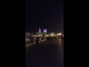 Ночной Баку Набережная Пламенные башни