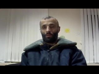 Захваченый силами ООС дагестанский наёмник днр