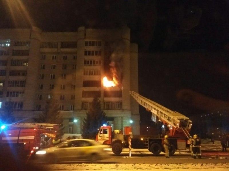 Ферма для майнинга стала причиной пожара в квартире в Северске