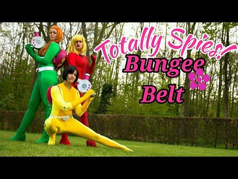 Totally spies Retractable bungee belt cosplay tutorial