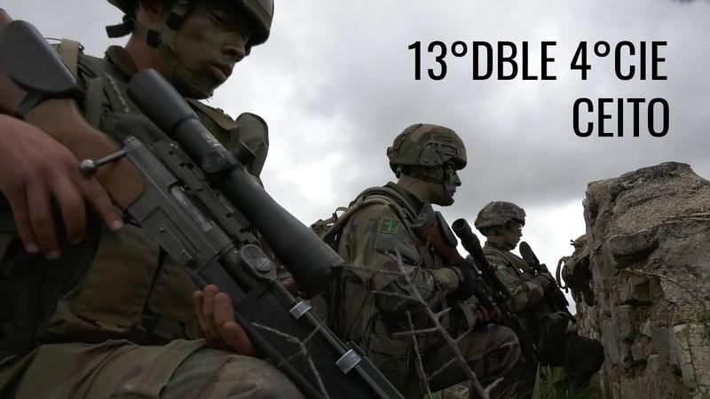 Evaluation de la 4e Compagnie de la 13e DBLE au CEITO