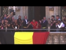 Belgiums homecoming celebrations were run by the one and only Hazard Eden 127