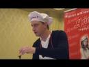 Певец, добрый молодец Алексей Гоман @alexeygoman на встрече с юными вокалистами. В рамках музыкально-кулинарной рубрики журнала