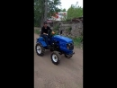 Минитрактор Резвый конь - Русич Т-15