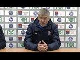 Послематчевая пресс-конференция главного тренера ФК «Велес»