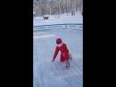 В первый раз на коньках