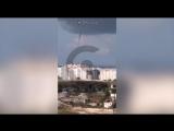 Над Севастополем пронесся смерч после дождя