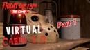 Джейсон убил всех,Тиффани и её друзей!!((Friday the 13th the game(virtual cabin 1.3-2.0)!!16