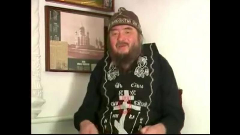 Схиархимандрит РПЦ Зосима о мясе и заповеди