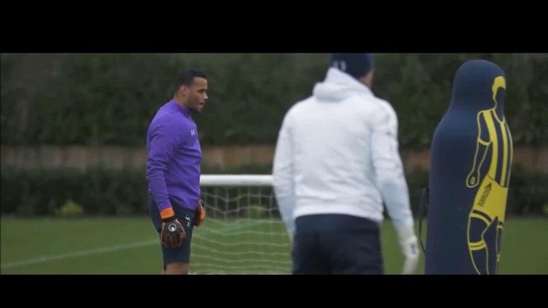 Тренировка вратарей Тоттенхэм Хотспур goalkeepers Tottenham Hotspur training
