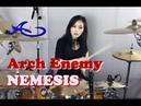 Arch Enemy - Nemesis drum cover by Ami Kim (19th)