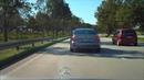 Bremsassistent Mercedes C320 W203 218 PS in Aktion
